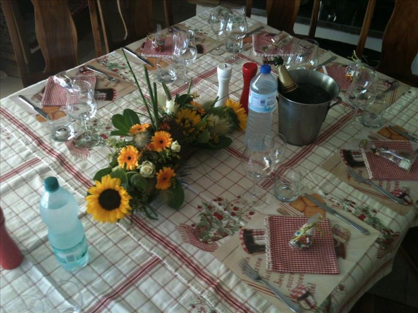 a table de fred